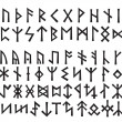 Elder Futhark and Other Runes of Northern Europe — Stok Vektör #5006508