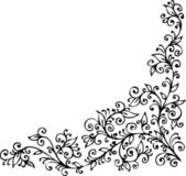 Floral vignette CDXXIV — Stock Vector