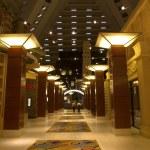 Lobby in luxury hotel. — Stock Photo