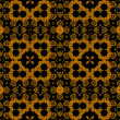 Art vintage damask seamless pattern background — Стоковая фотография