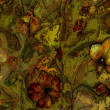 Art vintage floral pattern background - Zdjęcie stockowe
