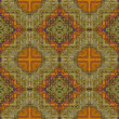 Art vintage damask seamless pattern background - Photo