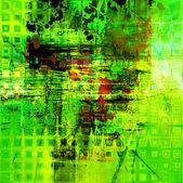 Kunst abstracte grunge grafische textuur achtergrond — Stockfoto
