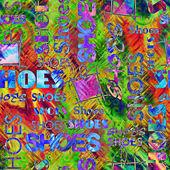 Stary słowo tło wzór — Zdjęcie stockowe