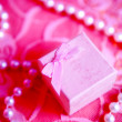 Royalty-Free Stock Photo: Pink present box