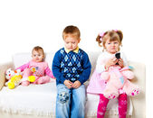 Three adorable kids — Stock Photo
