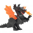 Stock Photo: Toy dragon, draco lego