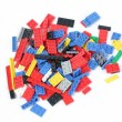 Constructor lego background - Stock Photo