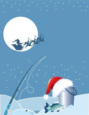 Santa asd fishing