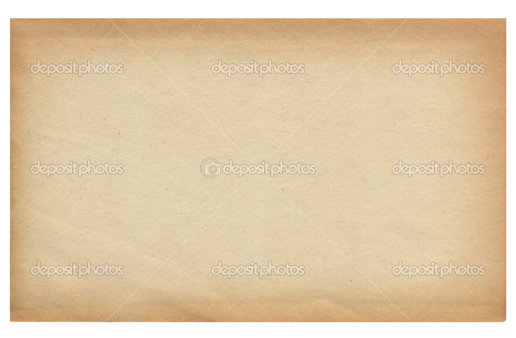 Old paper background texture for design on white. — Stock Photo #4522571