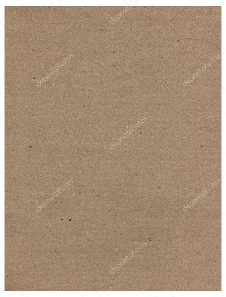 Old paper background texture for design on white.  Stock Photo #4522690