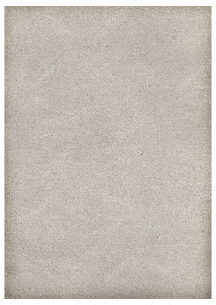 Old paper background texture for design on white.  Stock Photo #4522748