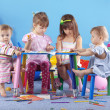 Stockfoto: Playing kids