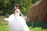 Beautiful bride — 图库照片