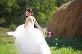 Linda noiva — Foto Stock