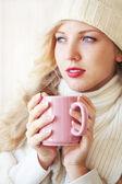 Café de invierno — Foto de Stock