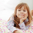 Child resting at home — Stock Photo #4149326