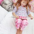 Child resting at home — Stock Photo #4149327