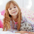 Child resting at home — Stock Photo #4175921