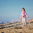Child at the beach — Stock Photo #4199598