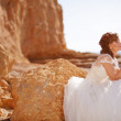 Beautiful bride — Stock Photo