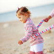 Child at the beach — Stock Photo #4213261