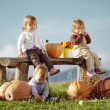 Country kids — Stock Photo