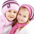 Winter kids - Stock Photo