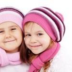 Winter kids — Stock Photo