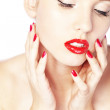Royalty-Free Stock Photo: Red lips