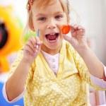 Child painting — Stock Photo #4342723