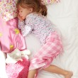 Child sleeping — Stock Photo
