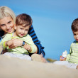 Foto Stock: Family leisure