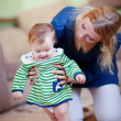 Mother with her baby — Stock Photo #4931458