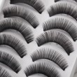 Foto Stock: False eyelashes