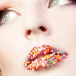 Fashion makeup — Stock Photo
