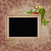 Framework for invitation or congratulation — Stock Photo