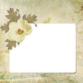 Grunge paper design for information — Stock Photo
