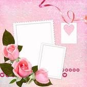 Lovely frame for Valentine's day — ストック写真
