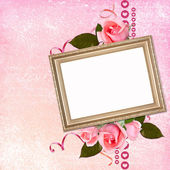 Framework for photo or congratulation. — Stock Photo