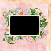 Framework for invitation or congratulation. — Stock Photo