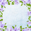 Floral greeting card with place for your text. - Stock Photo