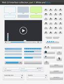 Web 2.0 interface part 1 — Stock Vector