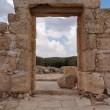 Entrance to ancient synagogue ruin — Stock Photo #4093283