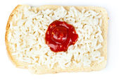Sandwich with a flag of the Japan — Stock Photo
