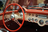 Interior old luxury car — Stockfoto