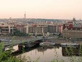 Pragues al amanecer — Foto de Stock