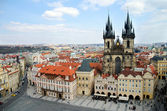 Prague, Old Town Square — Stockfoto