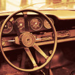 Stock Photo: AmericDream. Toned old car