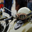 Vintage motorcycle - Stock Photo